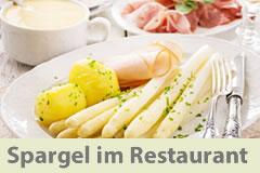 Viele Restaurants haben unseren Badischen Spargel auf ihrer Speisekarte. Hier finden sie die Liste.